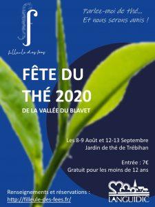 Prospectus de la fête du thé 2020 - Filleule des Fées